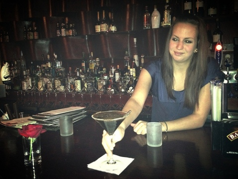 Therina presents the Mexican Chocolate martini.