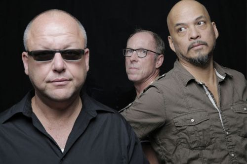 Black Francis, David Lovering and Joey Santiago (L-R) by Michael Halsband