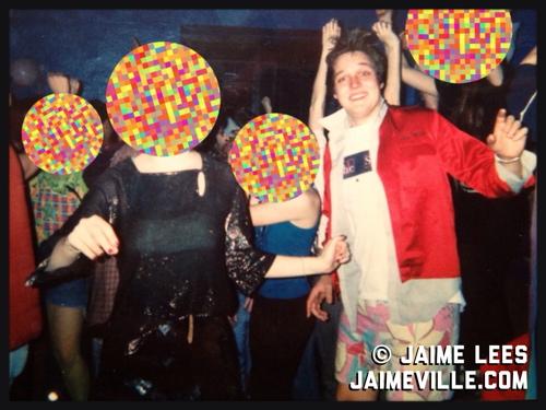 photo by Jaime Lees - Win Butler of Arcade Fire in 1999 or 2000. (No, he didn't always dress like Brendan Fraser in Encino Man.)