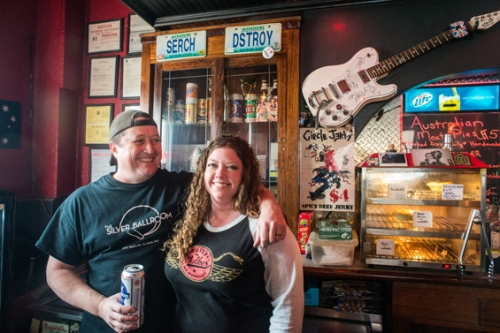 Steve and Shelly Dachroeden, proprietors of the Silver Ballroom. Photo by Jarred Gastreich for Riverfront Times