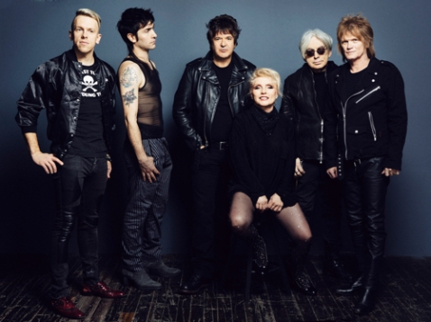 photo by Danielle St. Laurent / Blondie with Chris Stein (second from right)