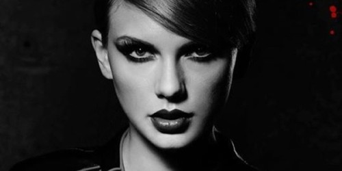 "The cover of Swift's ""Bad Blood"" single"