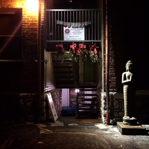Back entrance of Casa Bagus / photo by Jaime Lees